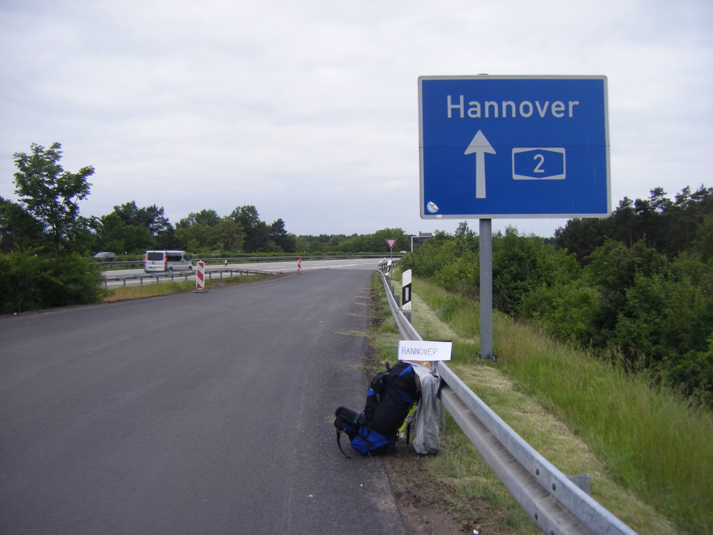 Something told me I was in a good spot for Hannover.