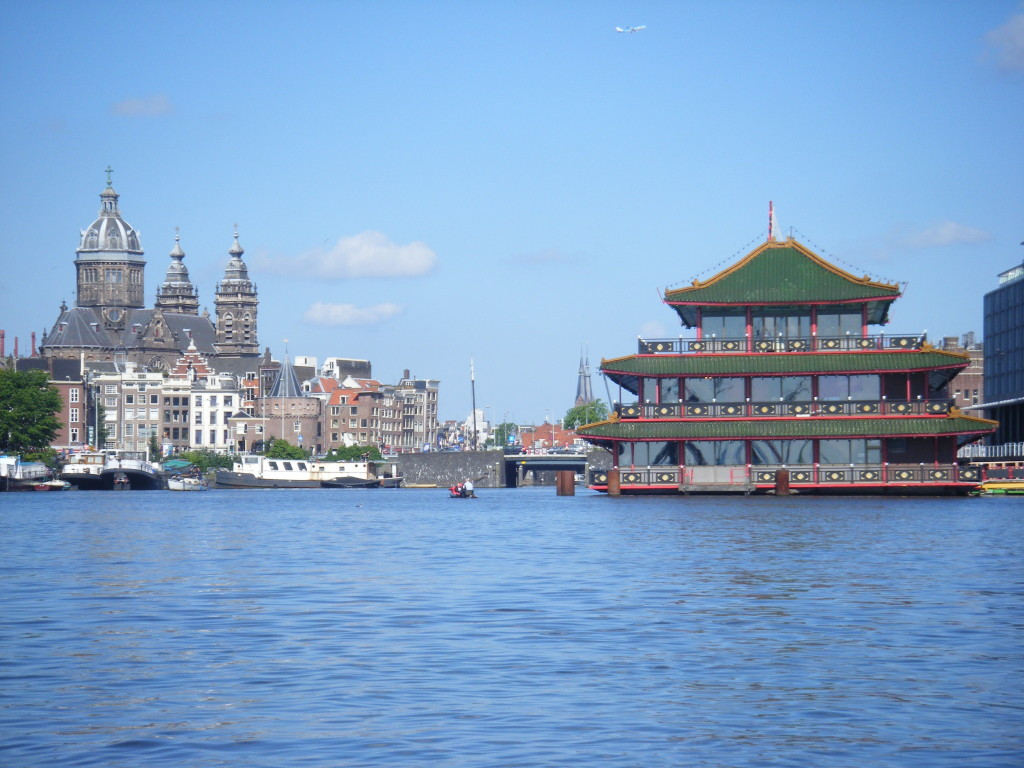 This is the largest floating chinese restaurant in Europe.